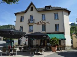 Hôtel Restaurant Le Bellevue, hotel in Ax-les-Thermes
