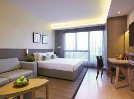 Oasia Residence Singapore: Singapur, Ulusal Üniversite Hastanesi yakınında bir otel