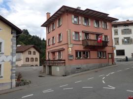 Hotel Rätia, hotel in Tiefencastel
