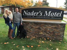 Nader's Motel & Suites, hôtel à Ludington