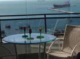 Flat Vista Completa Beira Mar, hotel near Mucuripe Fish Market, Fortaleza