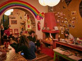 Backpacker La Bo'M, hôtel à Cusco