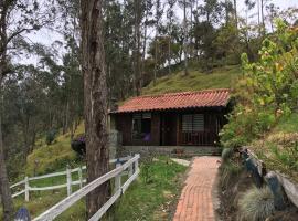 Cabañas Truchas Cocora, cabin in Salento