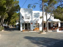 Bungalows Es Pins - Formentera Vacaciones, Hotel in Playa Migjorn