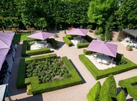 La Pyramide - Maison Henriroux、ヴィエンヌのホテル