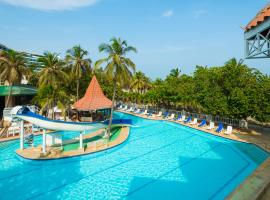 Hotel Las Americas Casa de Playa, hotel in Cartagena de Indias