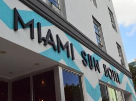 Miami Sun Hotel - Downtown/Port of Miami, hotel in Miami