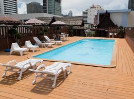 ทรู สยาม รางน้ำ โรงแรมในกรุงเทพมหานคร