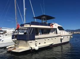 Blue III yacht, boat in Àrbatax