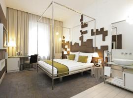Pure White, hotel en Vinohrady, Praga