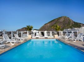 Hotel Atlântico Copacabana, hotel v destinaci Rio de Janeiro