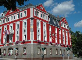 Hotel Strauss, hótel í Hof