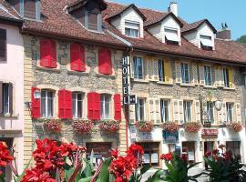Hôtel de la Croix-Blanche, hôtel à Cressier près de: Laténium