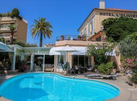 Hôtel l'Olivier - Piscine & Parking, hotel in Cannes