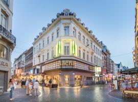 Safestay Brussels, hotel v Bruselu