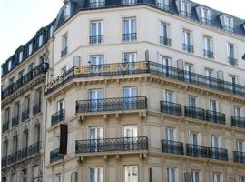 Hotel Bellevue Saint-Lazare, hotel near Mathurins Theatre, Paris