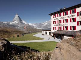Riffelhaus 1853, hotel near Findelbahn, Zermatt