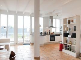 Apartment Medienhafen, viešbutis Diuseldorfe, netoliese – Miesto vartai