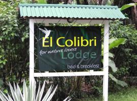 El Colibri Lodge, hotel in Manzanillo