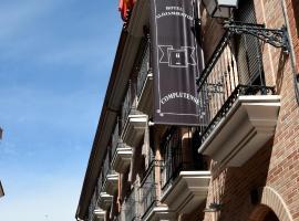 Complutense, hotel en Alcalá de Henares