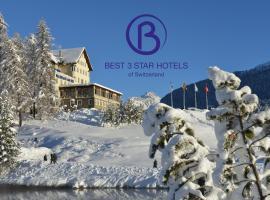 Hotel Waldhaus am See, hotel in St. Moritz