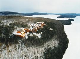 Sacacomie Hôtel et Spa, hôtel à Saint-Alexis-des-Monts