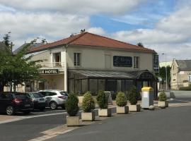 Hôtel Le Cerizay, hôtel à Cerizay près de: Puy du Fou