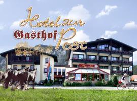 Gasthof Hotel zur Post, hotel in Kiefersfelden