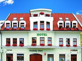 Hotel Vinarsky Dom, hotel v Pezinku