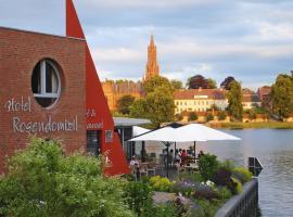 Rosendomizil, Hotel in der Nähe von: Fleesensee, Malchow