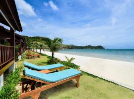 PingChan Koh Phangan Beachfront Resort, hotell sihtkohas Thong Nai Pan Yai
