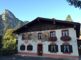 Ferienwohnungen im Mussldomahaus, ski resort in Oberammergau