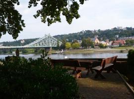 Ferienwohnung an der Elbe, Hotel in der Nähe von: Dresdner Elbtal, Dresden