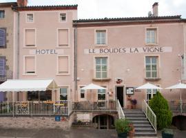Le Boudes la vigne, hôtel à Boudes