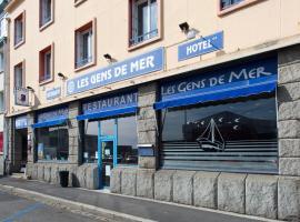 Hôtel Les Gens De Mer Brest by Poppins, hotel in Brest