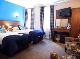Queens Head Hotel, hotel in Berwick-Upon-Tweed