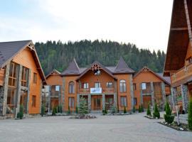 Sribni Rosy, hotel in Mykulychyn