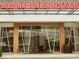 City Hotel, hotel with jacuzzis in Tasikmalaya