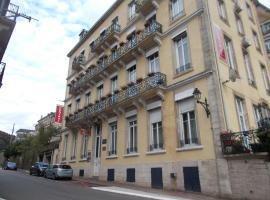 Résidence Central Hôtel, self catering accommodation in Plombières-les-Bains
