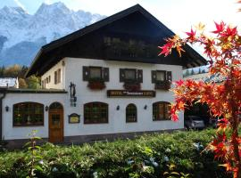 Zum Franziskaner, hotel near Partnachklamm, Grainau