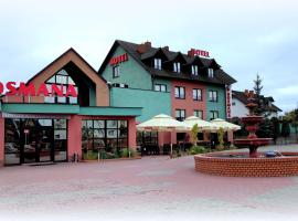 U Bosmana, hotel in Brodnica