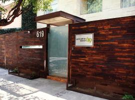 Lamartine 619 Residencial, serviced apartment in Mexico City