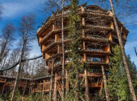 Huilo Huilo Nothofagus Hotel & Spa, lodge en Reserva Biológica Huilo Huilo