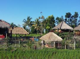 Pondok Indah Bungalows Tetebatu, family hotel in Tetebatu