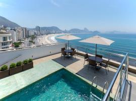 Orla Copacabana Hotel, hotel in Rio de Janeiro