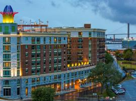 Homewood Suites Savannah Historic District/Riverfront, hotel in Savannah