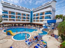 Blue Wave Suite Hotel, отель в городе Аланья, рядом находится Alanya State Hospital