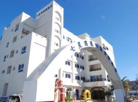 七星潭渡假飯店,大漢村奇萊鼻燈塔附近的飯店