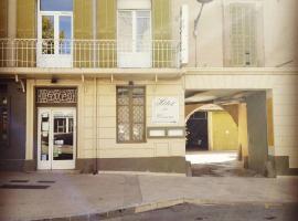 Hôtel Du Cours, hotel in Pertuis