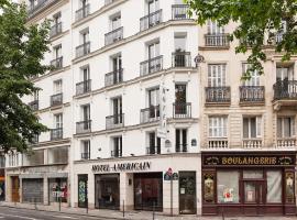 Hotel Americain, hotel em Paris
